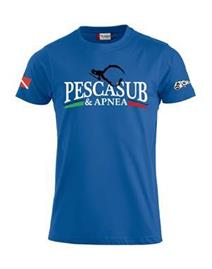 psa_pesca T-shirt Premium-T Royal
